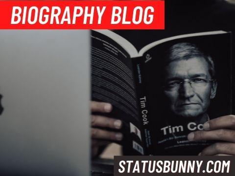 Biography Blog topic